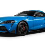 """今までのオーナー涙目!早くもGRスープラに""""エンジン改良型""""が登場。ブルーの外装色を持つ限定モデル「ホライゾンブルー・エディション」も発表"""