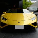 【動画】ランボルギーニ最新モデル、「ウラカンEVO RWD」を見てきた!固有のデザイン、トンガリ具合はなかなかだ
