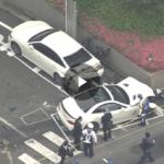 【動画】まさか日本で・・・。職質中に逃走→カーチェイス→事故→死人が出る事件が発生。なお車両はメルセデス・ベンツSL