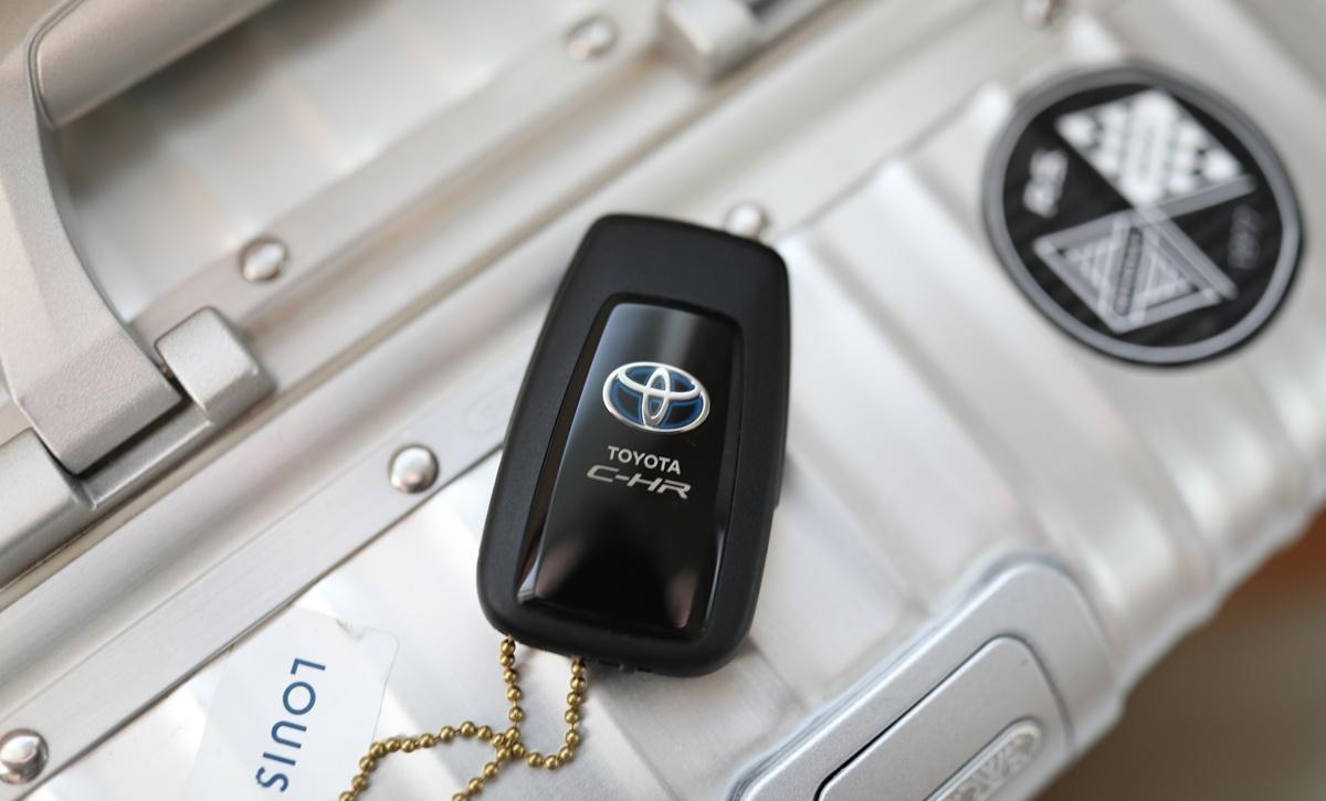 トヨタのキー