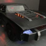 新バットマンの乗るバットモービル公開!アメリカンマッスルなのにミドシップ、コミック中ではデ・トマソ・パンテーラにも乗っていたようだ