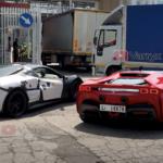【動画】フェラーリの謎ニューモデルの試作車がSF90ストラダーレとランデヴー中!「V6+ハイブリッド」、そしてディーノの名が復活と言われるが?