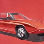 """フォードが57年前に描かれた""""GT40の初期スケッチ""""を公開!「資料を整理していたら偶然出てきた」"""