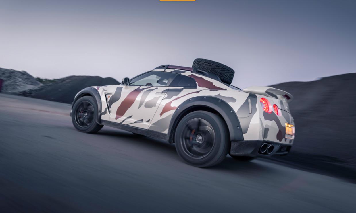 【動画】ありそうで無かった!日産R35 GT-Rをオフロード仕様に改造した「ゴジラ2.0」!1100万円で絶賛販売中