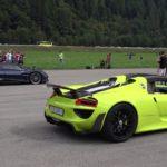 【動画】爆音注意!スイスにてハイパーカーイベントが開催、希少なクルマたちが峠やゼロヨンを走り抜ける
