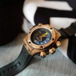 ウブロの腕時計、キングゴールド