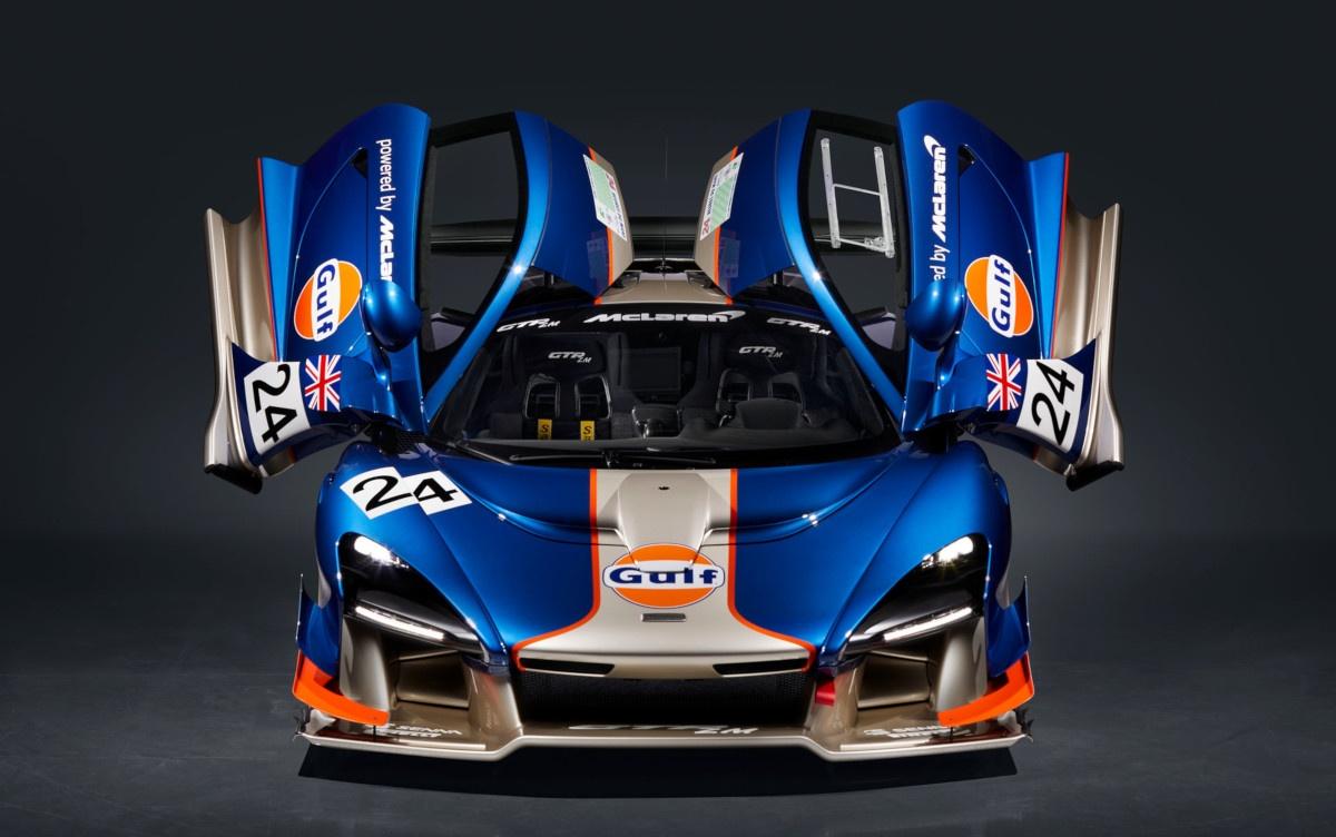 塗装にかかるのは1台800時間!マクラーレンが1995年のル・マン出走車を再現した「セナGTR LM」特別仕様車5台を公開