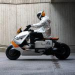 BMW電動バイク、ディフィニションCE04