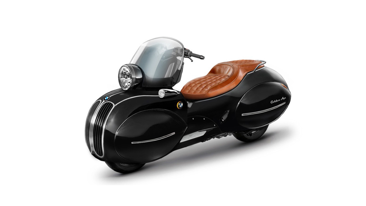 BMWのカスタムスクーター