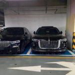 BMW 7シリーズと紅旗H9