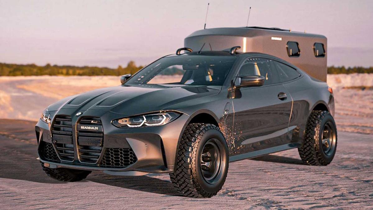 BMW M4のオフロードカスタム