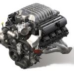 ダッジのV8エンジン