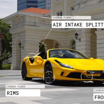 フェラーリF8スパイダーのオプション