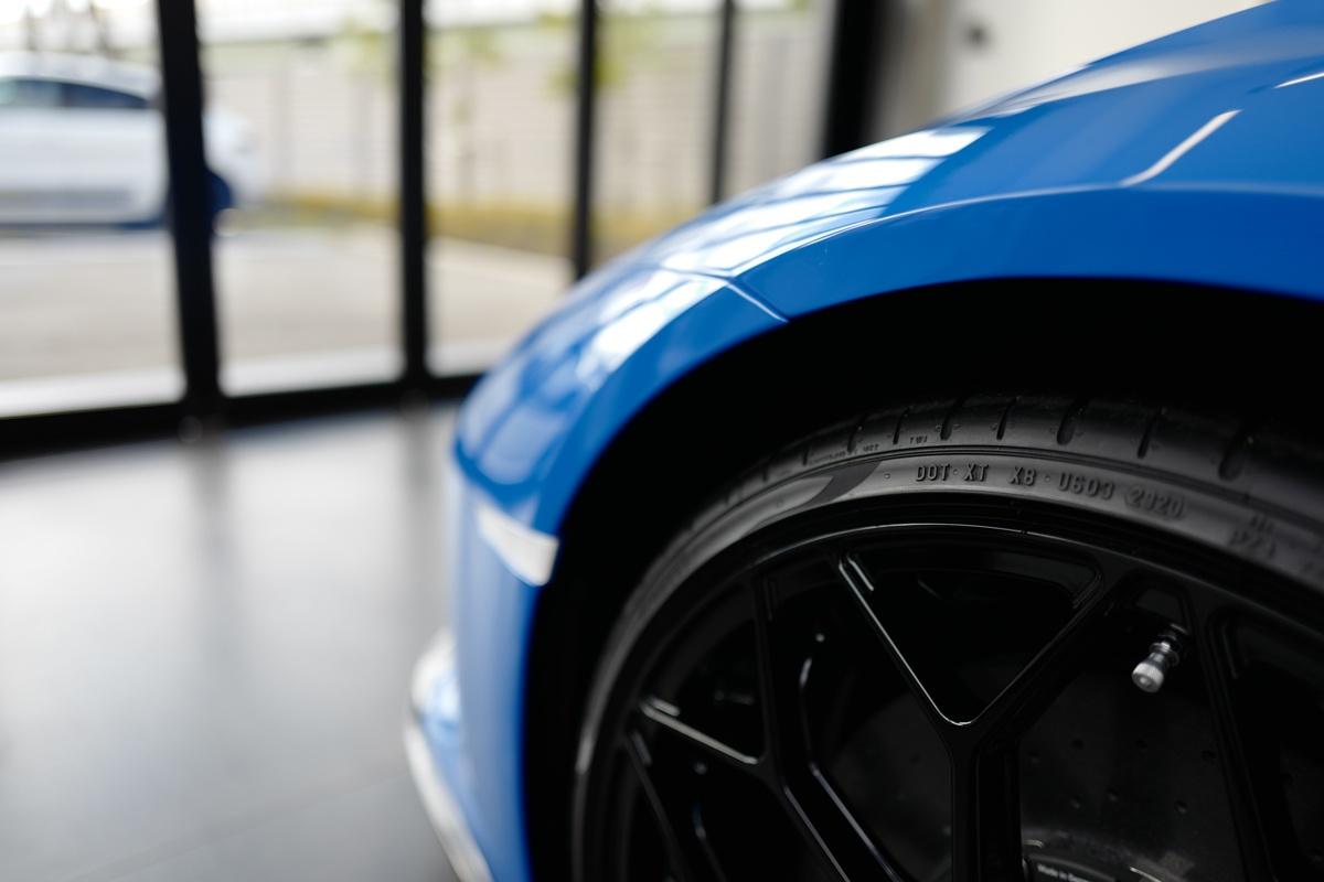 ランボルギーニ・ウラカンEVO RWDのタイヤ