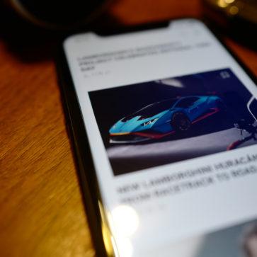 ランボルギーニのアプリ