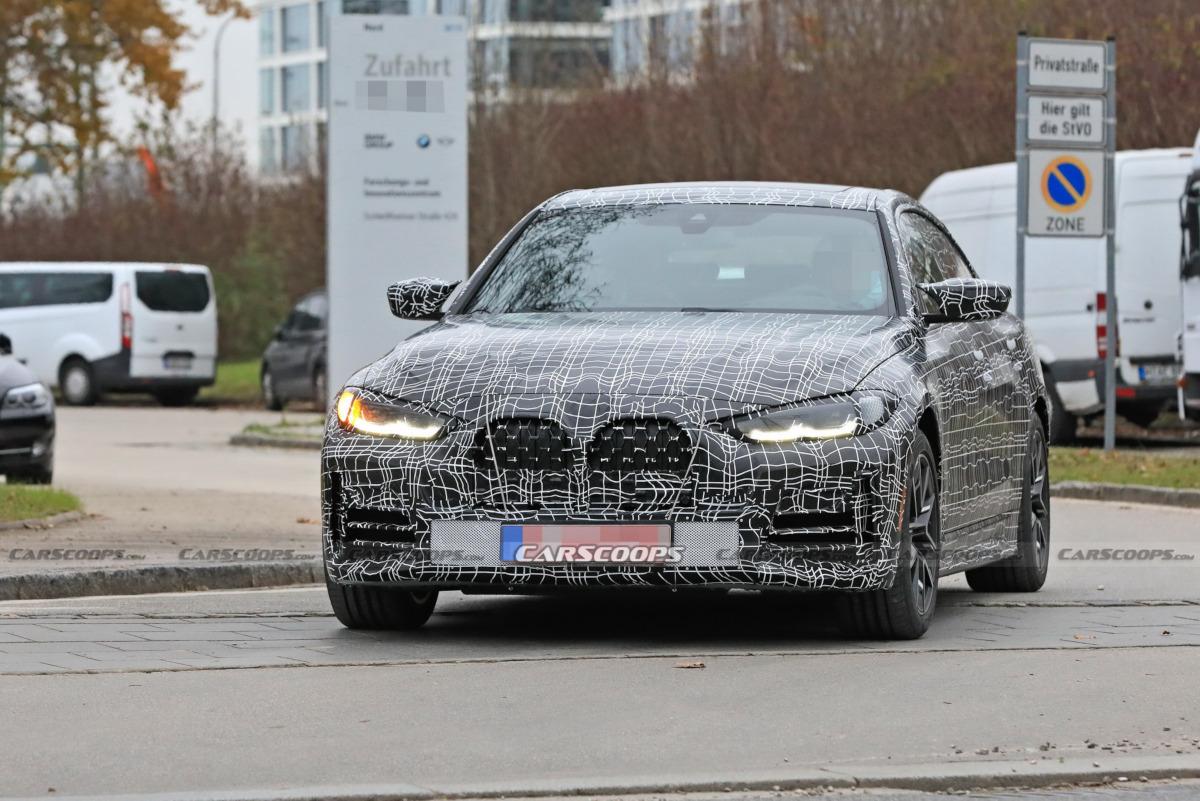 新型BMW 4シリーズ グランクーペのスパイフォト
