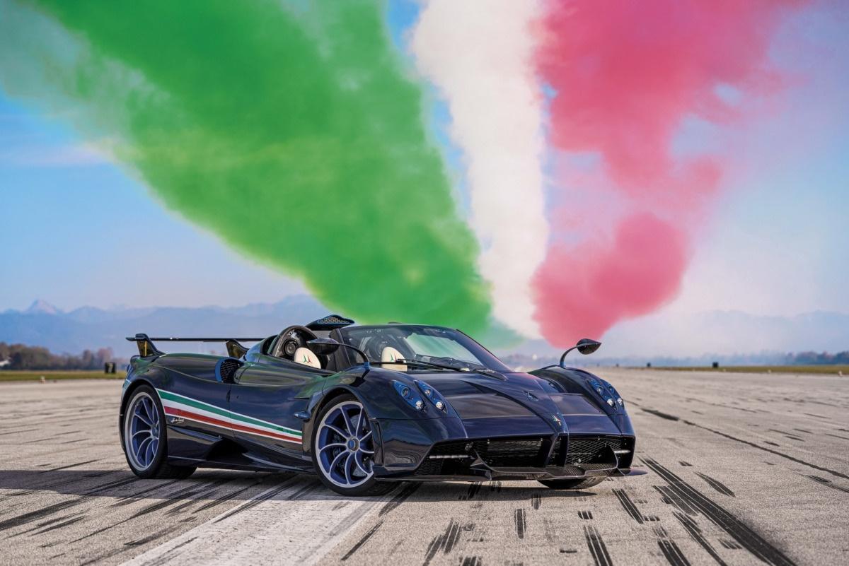 パガーニの新しい限定モデル、「ウアイラ・トリコローレ」
