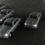 007ゴールドフィンガーに登場したアストンマーティンDB5の復刻モデル