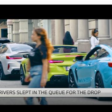 BMWの人気動画「Mタウン」
