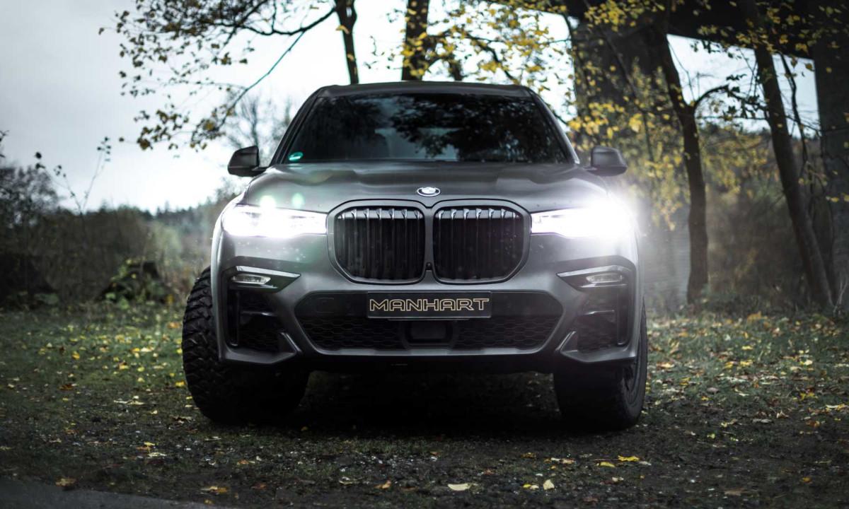 BMW X7のオフロードカスタム