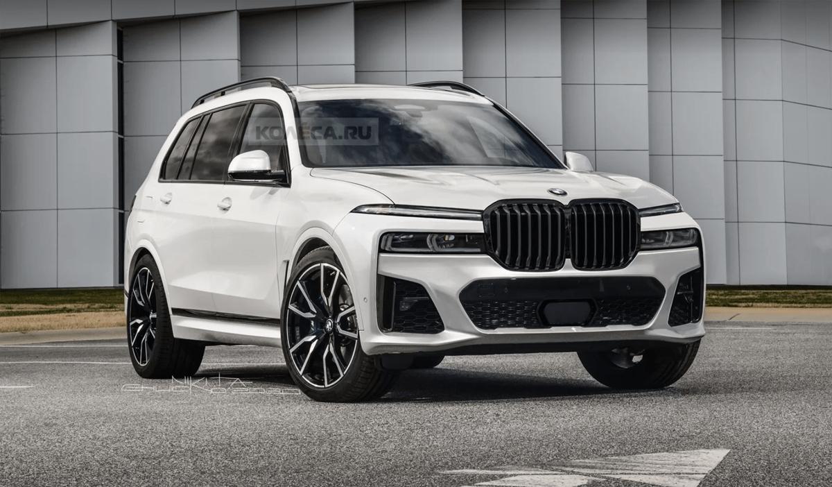 新型BMW X7の予想レンダリング