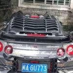悪趣味なカスタムが施された中国のR35 GT-R
