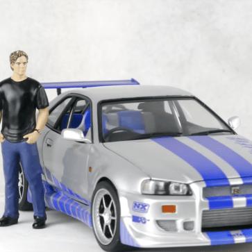 ワイルド・スピードに登場したブライアンのスカイラインGT-Rを製作