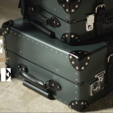 007とのコラボにて、グローブ・トロッターが「ノー・タイム・トゥ・ダイ」仕様のスーツケースを発売
