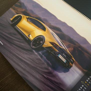 ランボルギーニのカレンダー