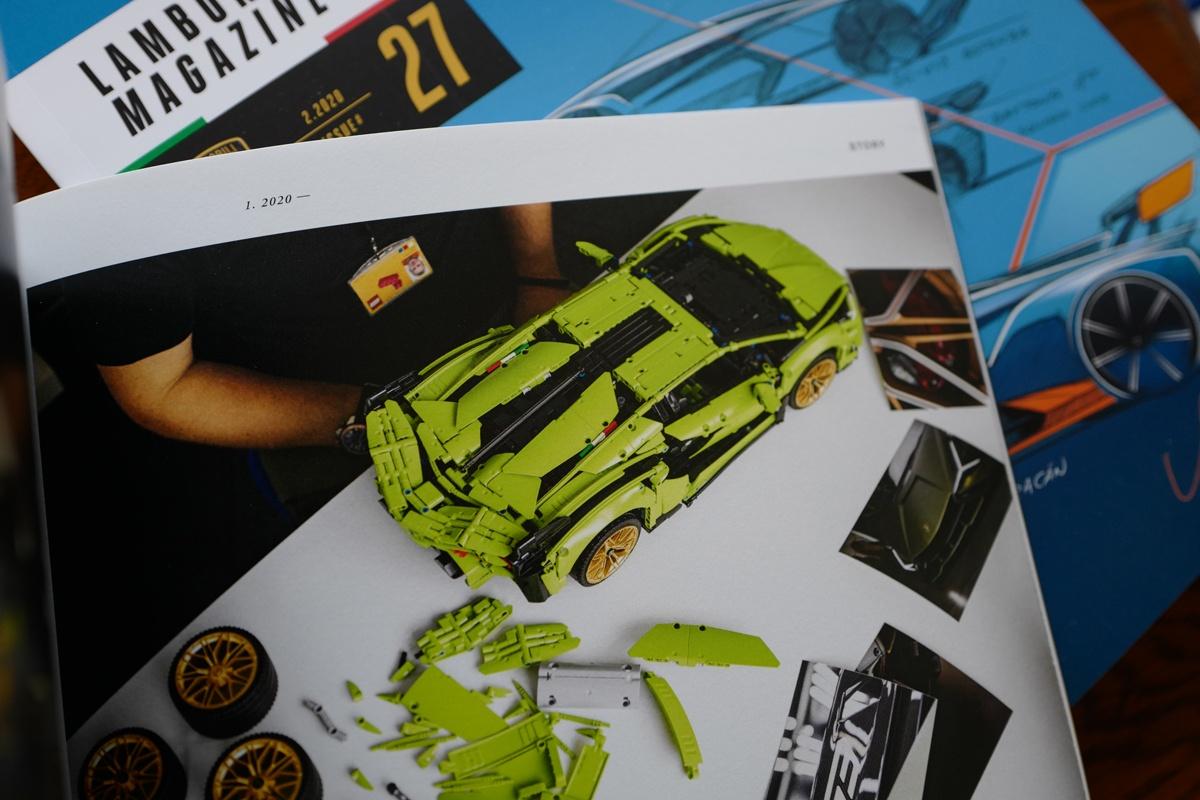 ランボルギーニ・シアンFKP37のレゴ