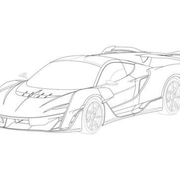 マクラーレンの新型ハイパーカー、セイバー