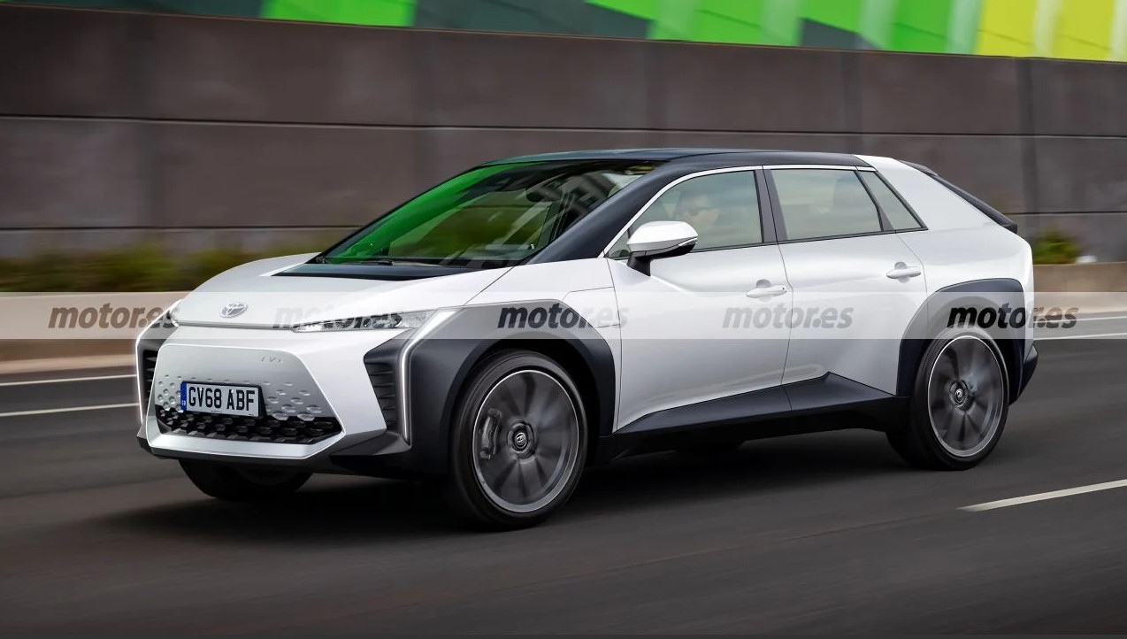トヨタの新型EV(ミッドサイズSUV)