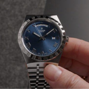 チューダーの最も安価な機械式腕時計、「ロイヤル」
