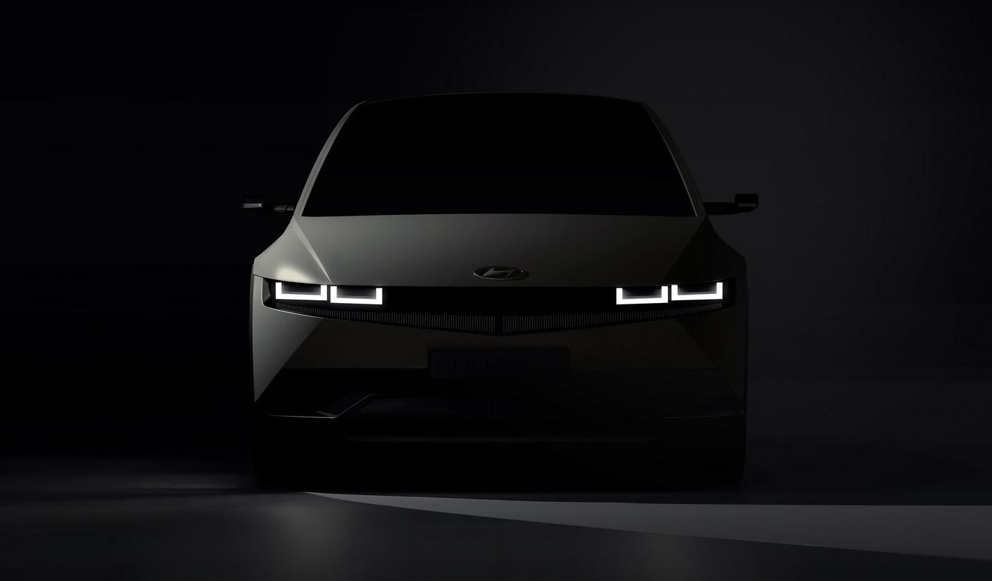 ヒュンダイの新型車、IONIQ5