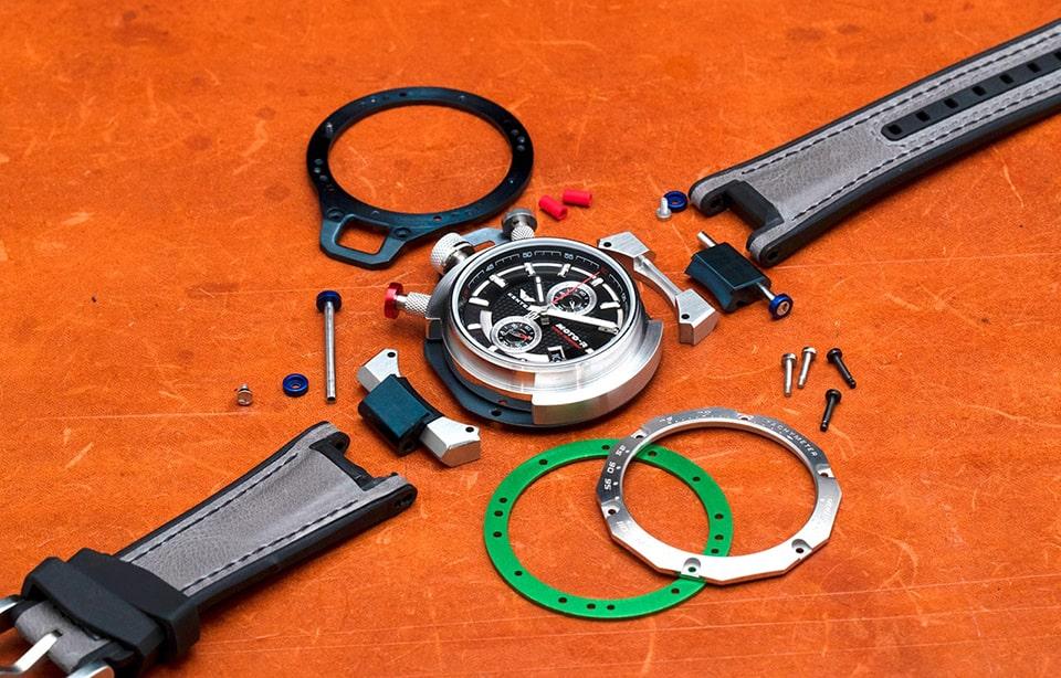 ケンテックスのライダー用腕時計、MOTO-R