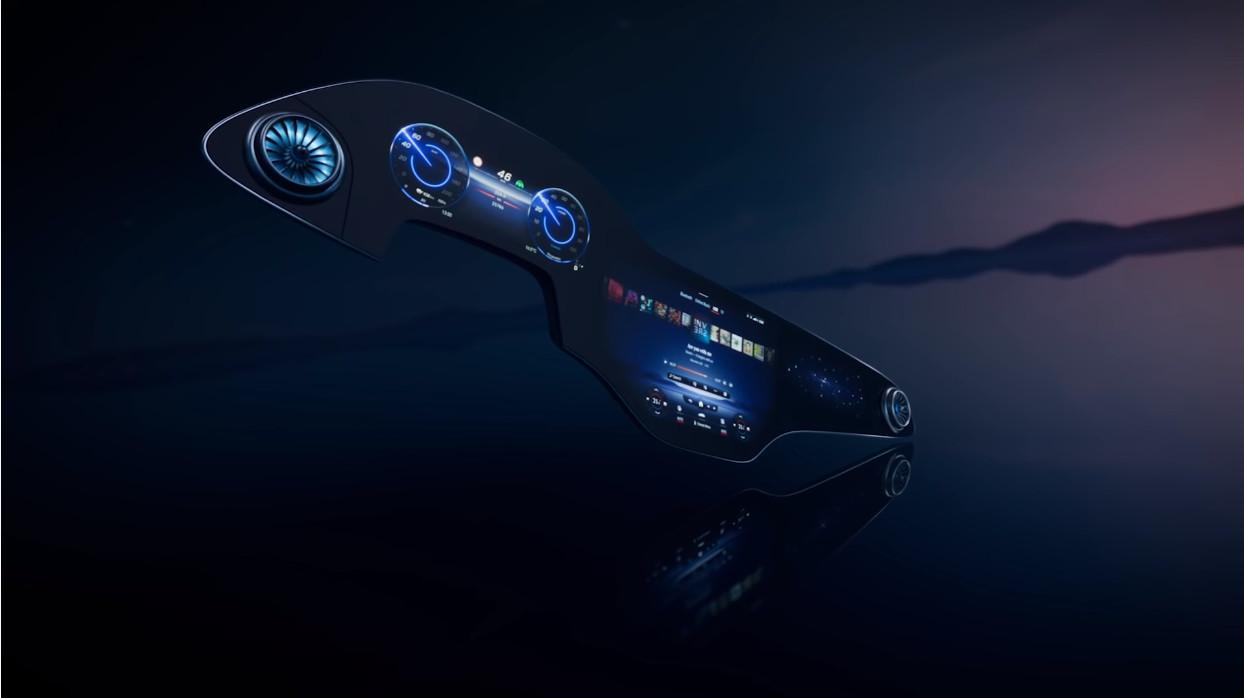メルセデス・ベンツの新型インフォテイメントシステム「MBUXハイパースクリーン」