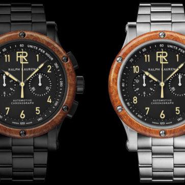 ラルフローレンのがブガッティをイメージした腕時計「ートモ-ティブ クロノグラフ」を発売