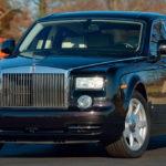 ドナルド・トランプ大統領が乗っていたロールスロイス・ファントムが競売に
