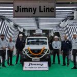 スズキがインドでジムニーの生産を開始