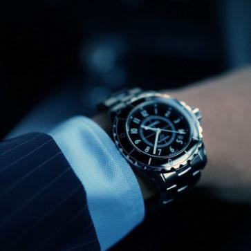 シャネルの腕時計、J12
