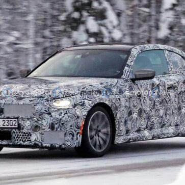 BMW 2シリーズ・クーペのスパイフォト