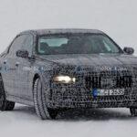新型BMW 7シリーズのスパイフォト