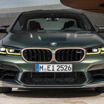 新型BMW M5 CS