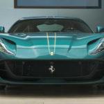 フェラーリが自社のパーソナリゼーション部門「テーラーメイド」でカスタムした812スーパーファストを公開