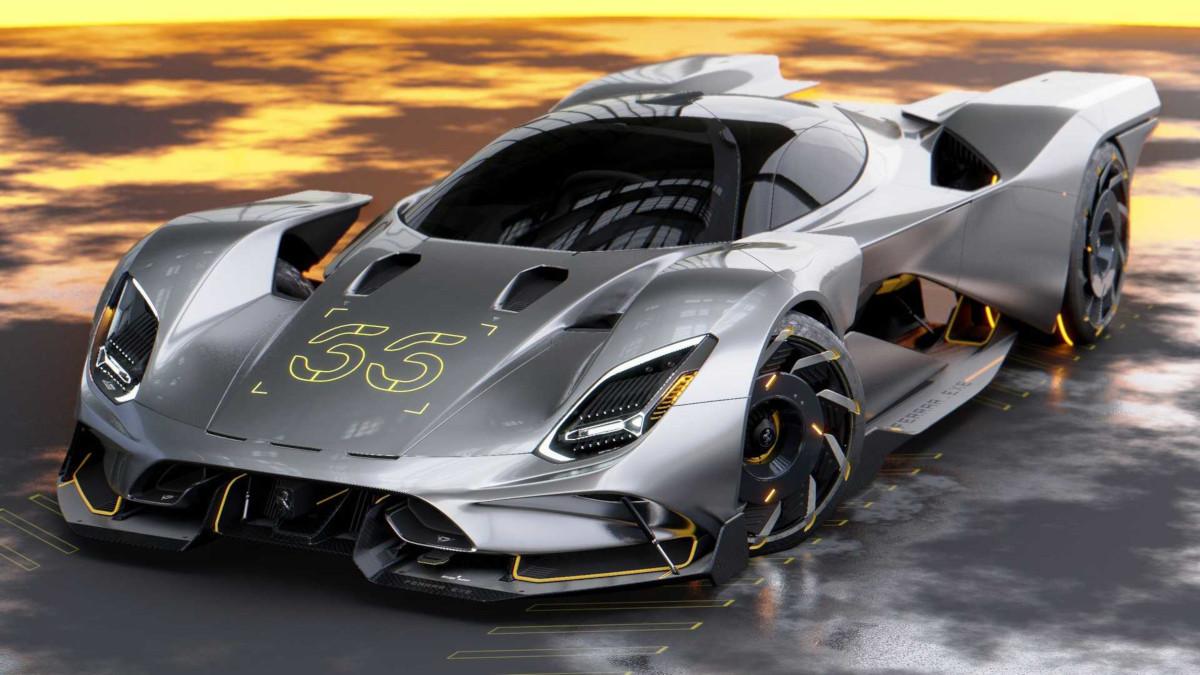 サイバーパンク2077にフェラーリのハイパーカーが登場したら?