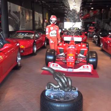 フェラーリコレクターのガレージ