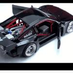ホンダCR-X(ホットウィール)をミッドエンジン仕様に改造