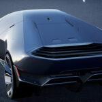 未来の電動ランボルギーニ、「lamborghini EX」