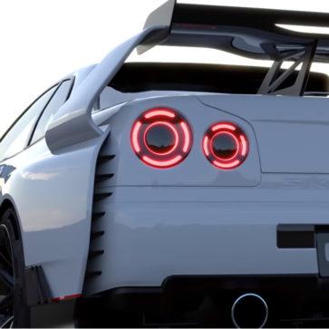 日産GT-R(R34)ハードコア・ボディキット