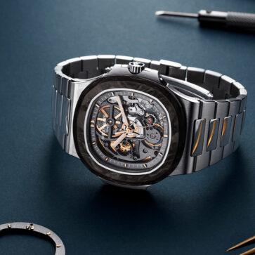 パテック・フィリップ・ノーチラスのカスタム腕時計